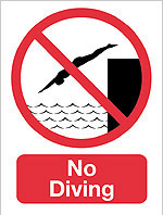 Man Fined £80 For Diving Into A Pool