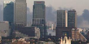 Huge Scrapyard Fire