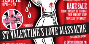 St Valentine's Love Massacre on Wheels
