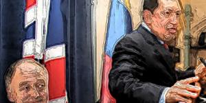 Ken & Chavez Get Oily Together