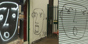 Random Graffiti of the Week: YTE