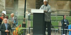 Honouring Mandela