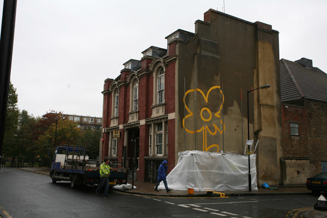 Banksy: Caught In The Act And Unmasked