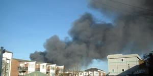 Breaking News: Fire In East London