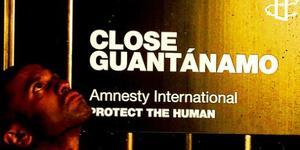 Amnesty International Recreate Guantanamo Bay in London