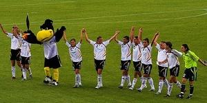 Football: Germany Ladies 3 England Ladies 0