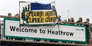 "Heathrow Protesters Plan ""Militant"" Training Camps"