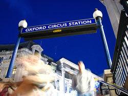 Oxford Circus tube