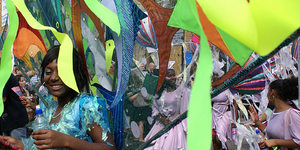 Notting Hill Carnival: Day One In Pictures