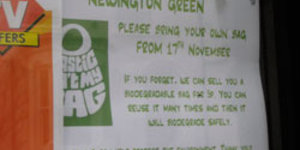 London Councils Bail Out On Bag Ban