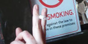 London Shopkeepers Fear Fag Ban