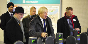 In Pictures: Boris Opens The Woolwich DLR