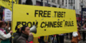 Arrests At Tibet Protests