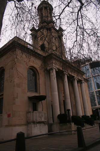 Trinity Church (now offices) where Patterson met his uncle on 27 December 1858 by Amanda.
