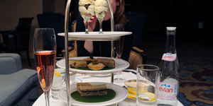 Going Bananas with a Fairtrade Afternoon Tea at the Royal Lancaster