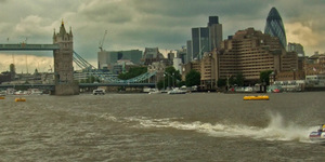 100 Years Of The Port Of London Authority