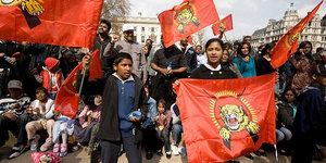 Tamil Demonstration Day Three