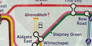 Shoreditch Moves Into Zone 1