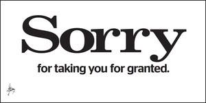 ES Sorry Giveaway
