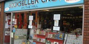 Biblio-Text: Bookseller Crow On The Hill