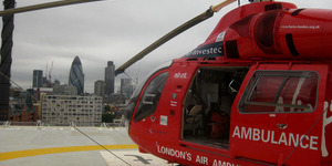 In Pictures: On The Helipad Of The London Air Ambulance