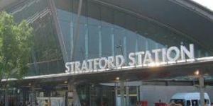 New Bridge For Stratford Goes Up