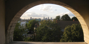 In Pictures: Sunset From The Rooftops Of Peckham Rye
