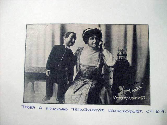 'Thora the Victorian Transvestite Ventriloquist' by Zefrog