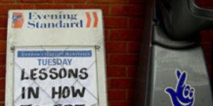 Evening Standard Becomes A Free Paper