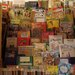 Big, happy display of books