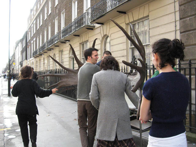 Half way down Gower Street. (C) UCL, Grant Museum of Zoology.