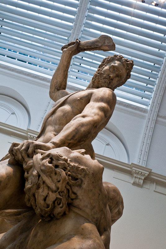 Samson slaying a Philistine, by Giambologna, Italy (Florence), 1560-2