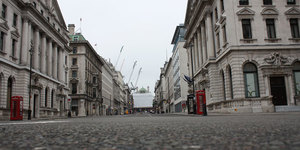 In Pictures: Deserted London