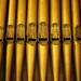 Details of the organ pipes.