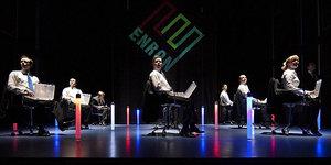 Theatre Review: Enron @ The Noel Coward Theatre