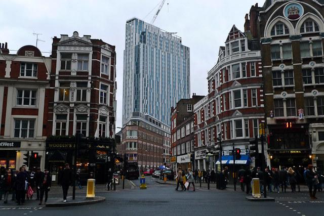 Nido Spitalfields viewed from Bishopsgate
