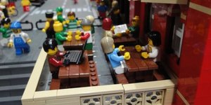 St Pancras...The LEGO Version