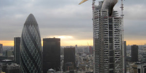 Touch Up London #101: Heron Tower Tops Out