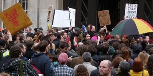 In Pictures: Save BBC 6 Music Protest