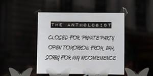 The Anthologist Opens on Gresham Street