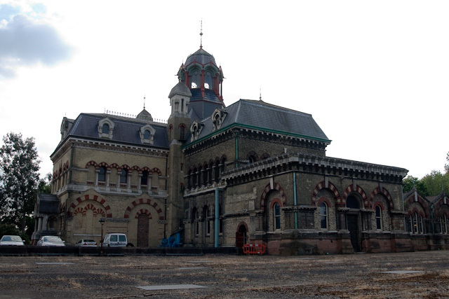Abbey Mills pumping station in all its Gothic glory.