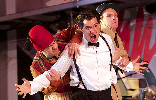 Theatre review the comedy of errors regent 39 s park open for Farcical comedy