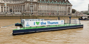 New Floating Rubbish Collector For Thames