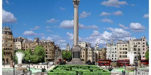 Maze Of London Trivia Comes To Trafalgar Square