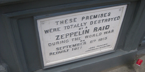 Zeppelin Airship Attacks On London: Mapped