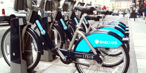 Cycle Hire Bikes Installed This Evening