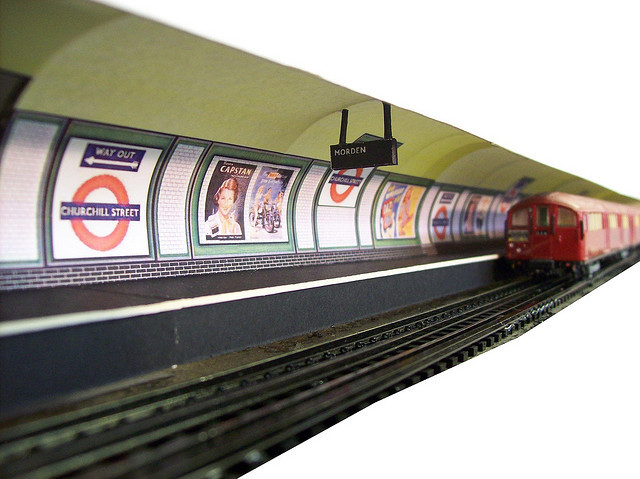 Fake Northern Line station