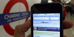 Testing Out Wi-Fi On The Underground