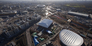 The Olympic Park From Above (November 2010)