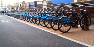 London's Largest Cycle Hire Docking Station Opens